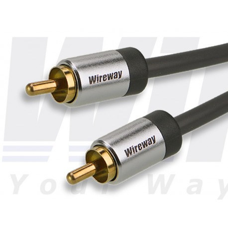 WIREWAY CAXIAL RCA CABLE 2M