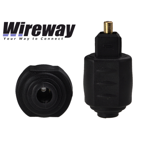 WIREWAY OPTICAL JACK TO TOSLINK ADAPTER