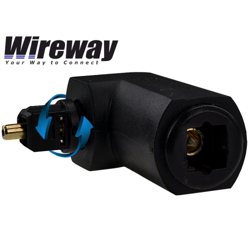 WIREWAY 90 ANGLE ROTATING TOSLINK ADAPTER