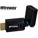 WIREWAY HDMI 360 ANGLE CONNECTOR